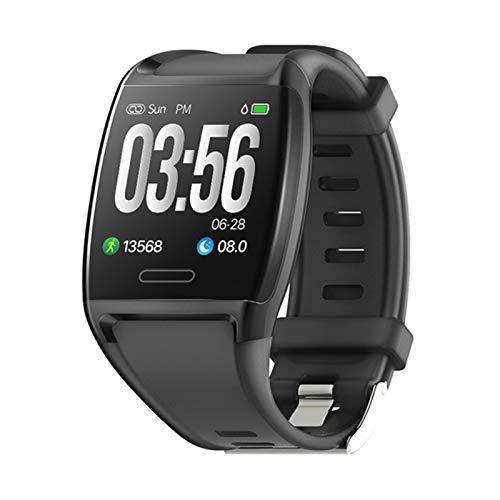 ZBY Smart Watch V2 Pulsera De Pantalla Grande Monitoreo del Corazón Monitoreo De La Presión Arterial Mensaje De Empuje iOS Android Deportes Fitness Tracker Pulsera,C
