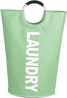 FLAMEER Large Laundry Basket 115L Collapsible Storage Durable Fabric avec Handles Laundry Bin Dirty Clothes Basket pour Ba...