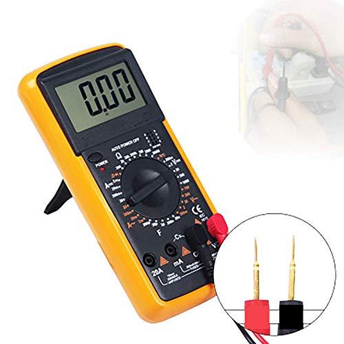 Digital-Multimeter-Mini-Spannungsprüfgerät Home Messwerkzeuge Multi-Tester Test Spannung, Strom, Widerstand, Durchgang, Frequenz, LCD-Anzeige