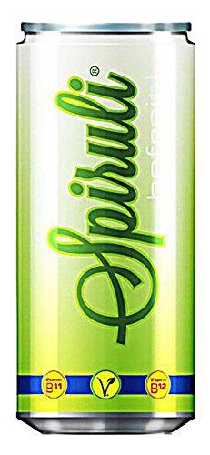 Spiruli Erfrischungsgetränk mit natürlichem B12 und Spirulina - vegan - 4er Pack (4x200ml)