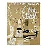 """""""Popaball"""", 12 tätiger Prosecco Adventskalender, Geschenk"""
