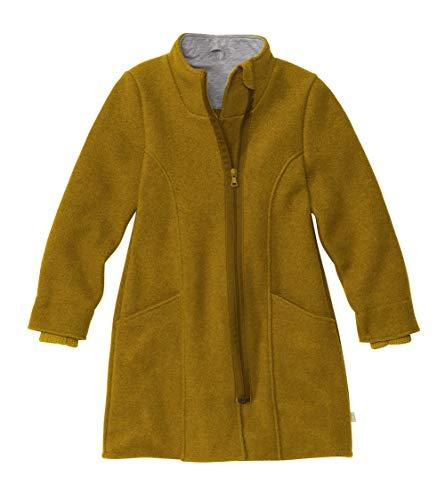 Disana Kinder-Mantel in Gold, Gr. 122/128, 6-8 Jahre