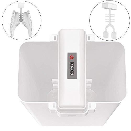 LRZ Ultrasone schoenwasmachine, draagbare schoenwasmachine, luie automatische wasschoenen, met geurverwijdering en sterilisatiefuncties