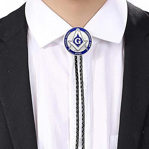 FATEGGS Cowboy Liens pour Hommes Denim Western Bolo Dentelle Cravate Fantaisie Robe De Chemise Danse Cravate Cravate Pendentif Mode Bijoux Liens Occidentaux (Color : D, Size : 1)