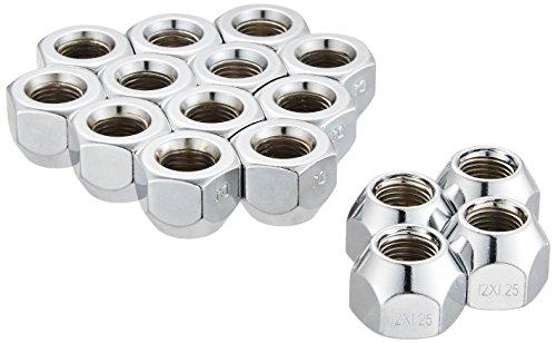 大自工業 ホイールナット 貫通タイプ 16個入リ 適合レンチ21mm 1.25ピッチ ニッサン スバル スズキ用 N01-16