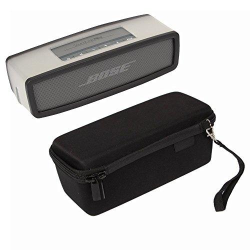 YaPear Carry Viajes Protección Caja para Bose Soundlink Mini I and Mini II Altavoz Bluetooth (Black+Black)