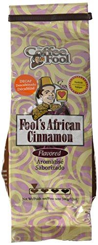 The Coffee Fool Turkish Powder, Fool's Decaf African Cinnamon, 12 Ounce