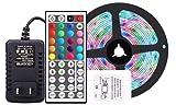 Speedrid LED TV Retroilluminazione 1M,Impermeabile Striscia LED RGB USB con 44 Telecomando 1M Striscia LED per HD TV da 40-60 Pollici,PC Monitor