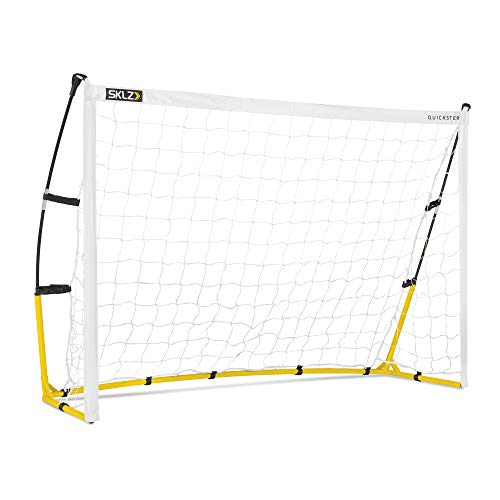 SKLZ Quickster Soccer Goal Portable Soccer Goal and Net, 6 x 4 Feet