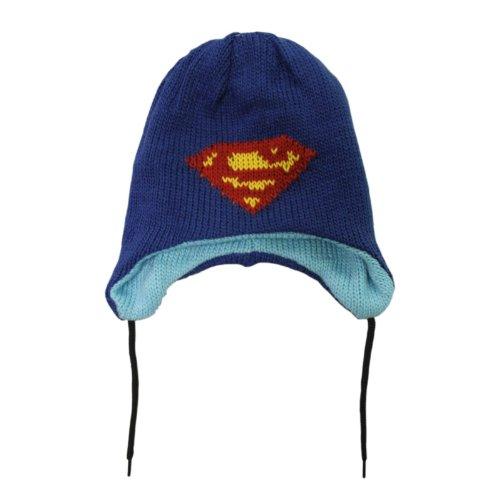 DC Comics Funko Bioworld réversible Superman Bonnet (Bleu)