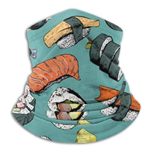 KDU Fashion Sweatband, Japanse sushi-halsmanchet, lichte gezichtsbeschermingsschilden om te hardlopen, klimmen en kamperen