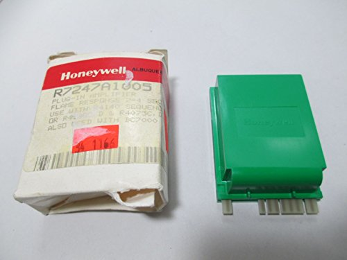 Why Choose Honeywell, Inc. R7247A1005 Flame Amplifier, 2-4 sec Response Time, Green