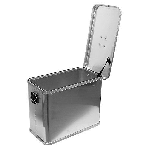 Motorradkiste Transportbox Motorradbox 36 L - C36 Motorradkoffer Kiste Gepäck Koffer Gepäckträger Aluminiumkiste Vollaluminiumbox