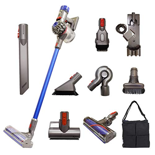Dyson V7 Fluffy Cordless Vacuum Cleaner with 9 Tools, Extra Tools for...