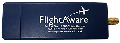 Cheapest Prices! FlightAware Pro Stick Plus FA-PROSTICKPLUS-1 ADS-B USB Receiver with Built-in Filte...