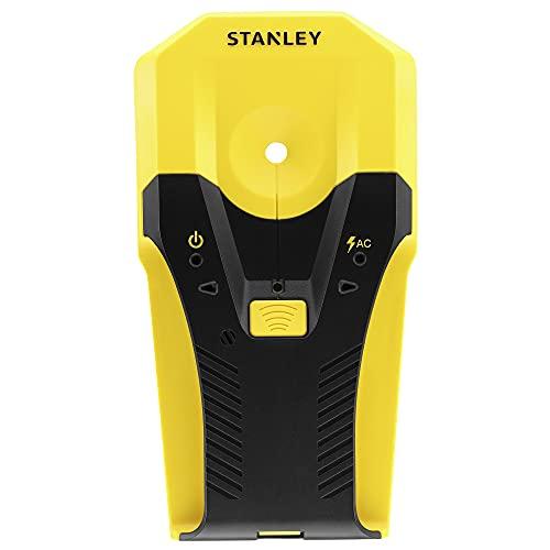 Stanley Materialdetektor S2 STHT77588-0 (för placering av trä, metall och växelström, för en mängd olika tillämpningar såsom TV-montering, hängande hyllor och materialplacering)