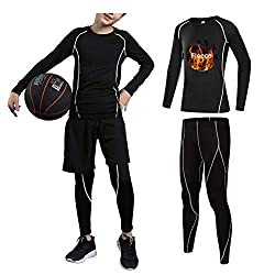 Tesuwel Base Layer Athletic Compression Set