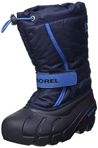 Sorel Unisex-Kinder-Winterstiefel, CHILDRENS FLURRY, Blau (Collegiate Navy, Atmosphere), Größe: 31