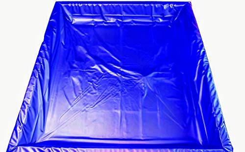 Mesamoll2® Wasserbett Sicherheitswanne für 200x200 cm Softside Wasserbett | Auslaufschutz | Sicherheitsfolie