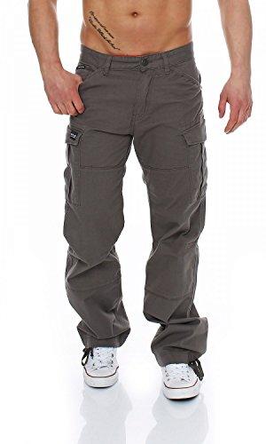 Big Seven Brian Cargo Hose Comfort Fit Herren Jeans, Hosengröße:W46/L32, Farbe:Tech Grey