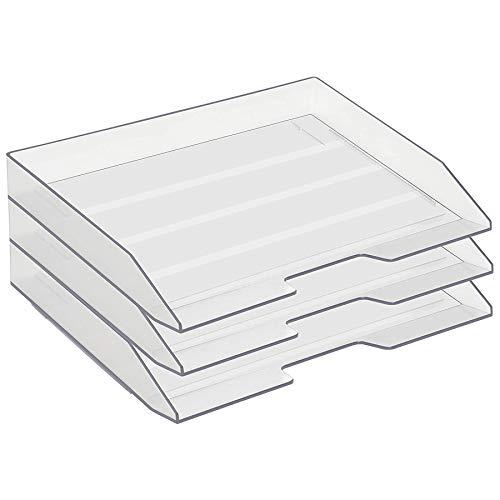 Bandejas Oficina Apilables Plástico bandejas oficina  Marca Acrimet