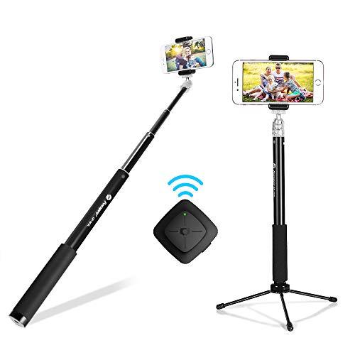 Bluetooth Selfie Stick Tripod, Fotopro 36' Cell...
