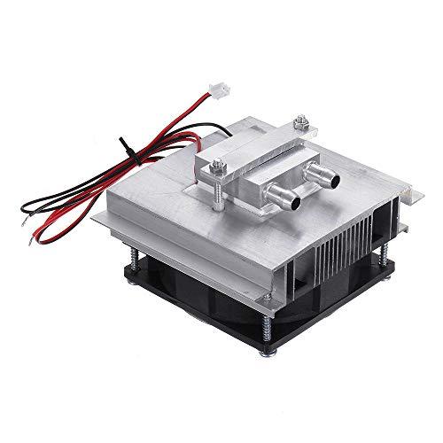 RLJJCS Sistema de enfriamiento termoeléctrico de 50W DIY Sistema de refrigeración semiconductora Kit de Sistema de refrigeración de semiconductores Peltier Cooler para 15L Agua