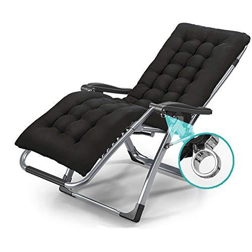 YLCJ Vouwstoel Verstelbare recreatieve stoel Vouwstoel Zwangerschapsbed Kantoorstoel Tuinhoek Balkon Campingstoel Casa Siesta Bed Vouwstoel 178x65x80 cm 200 kg A ++ (kleur: B) A