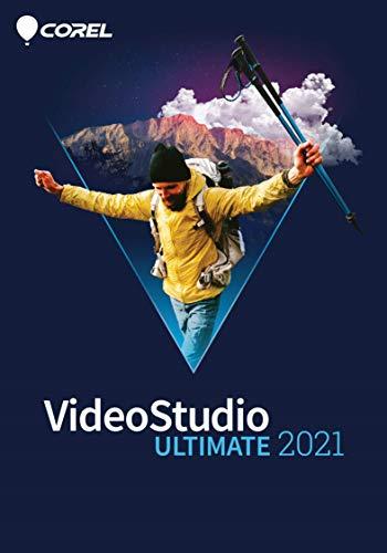 Corel VideoStudio 2021 Ultimate | Videoschnittsoftware | Slideshows, Bildschirmaufnahme, Brennen von DVDs | Ultimate | 1 Gerät | 1 Benutzer | PC | PC Aktivierungscode per Email