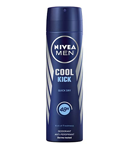 NIVEA Men NIVEA Spray Cool Kick Men – 200 ML – 6 unités