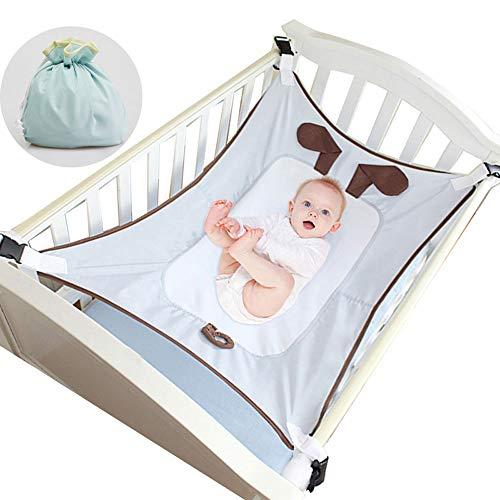 NACEO Baby Hangmat voor wieg, Bassinet Hangmat Bed, Veiligheid Verstelbare Kinderkamer Bed met Draagbare Opbergtas voor Pasgeboren Baby Gift