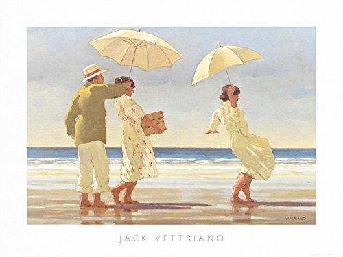 Jack Vettriano Poster/Kunstdruck The Picnic Party 60 x 80 cm