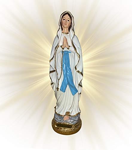 caganer.eu Heilige Maria Figur, Mutter Gottes de Lourdes, Sammlerstück H. 30 cm