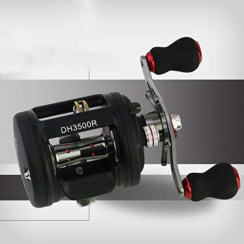 XXBFDT Carrete de Pesca Spinning Rodamientos - Rueda Lei Qiang-Modelo 3500 Mano Derecha