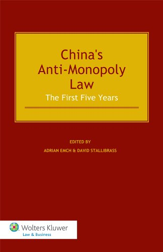 China's Anti-Monopoly Law (English Edition)