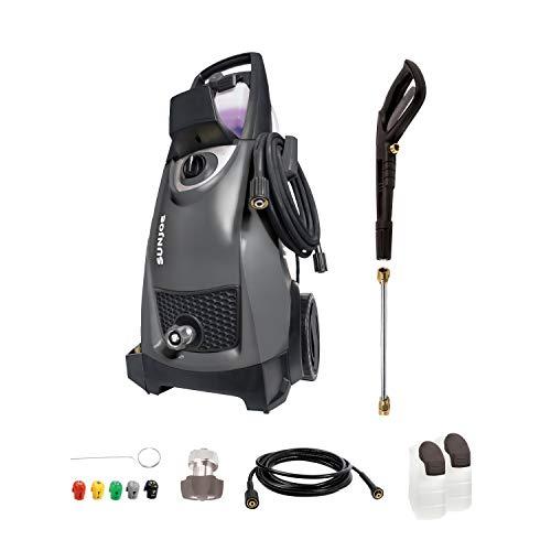 Sun Joe SPX3000-BLK 2030 Max Psi 1.76 Gpm 14.5-Amp Electric Pressure Washer, Black