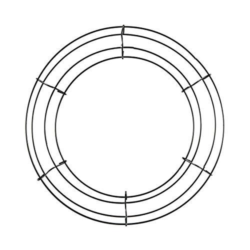 Ashland - Aro de corona de metal (30,5 cm)