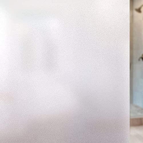 Película de protección de privacidad de película para Ventanas Mate, película esmerilada, Pegatina de Vidrio de protección UV, Utilizada en el hogar, la Oficina, la Sala de reuniones J 30x300cm