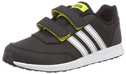 adidas Unisex-Kinder Vs Switch 2 CMF C Fitnessschuhe, Mehrfarbig (Negbás/Ftwbla/Amasho 000), 28 EU