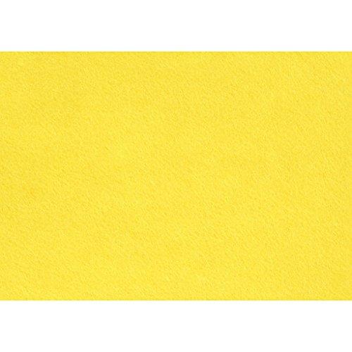Creativ Company Artisanat feutre, 21x30 cm, 10 feuille jaune