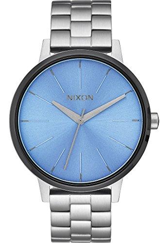 Nixon - Kensington - Reloj - Silver-Coloured/Sky/Gunmetal