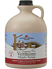 CERTIFIED ORGANIC: By Vermont Organic Farmers LLC (VOF). Guaranteeing you and your family a healthier product, sourced from local organic Vermont Farms. Not only better for you, but also better for the land and Tastes Great! VOF certification also gu...