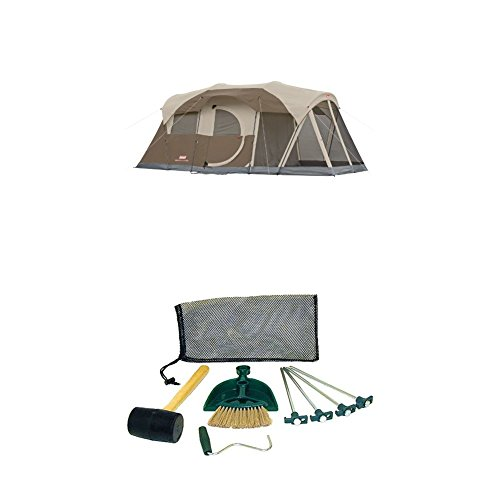 Coleman WeatherMaster 6-Person Screened Tent with Coleman Tent Kit