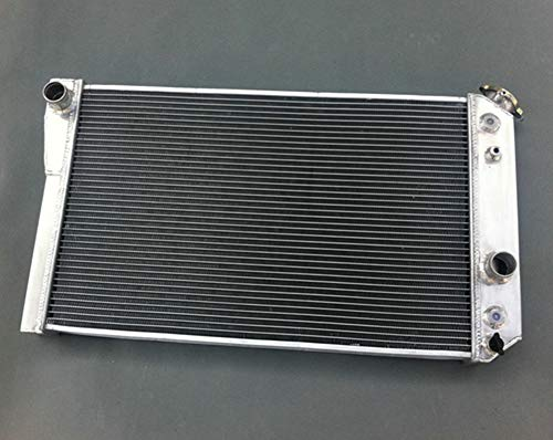 Aluminum radiator for Chevrolet Chevy S10 (W  V8 Conversion) AT MT 1982-2002