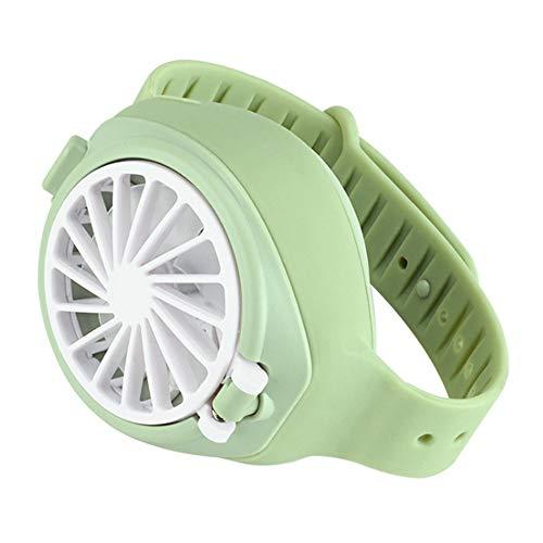 Qnotici Mini USB portátil para niños 3 Engranajes Ventilador Ajustable para Reloj