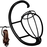 2 Pack Wig Hanger, Portable Hanging Wig Stand for All Wigs Long Hair