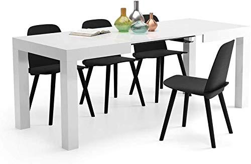 Comedor mesas de cocina escalable de madera antigua,H