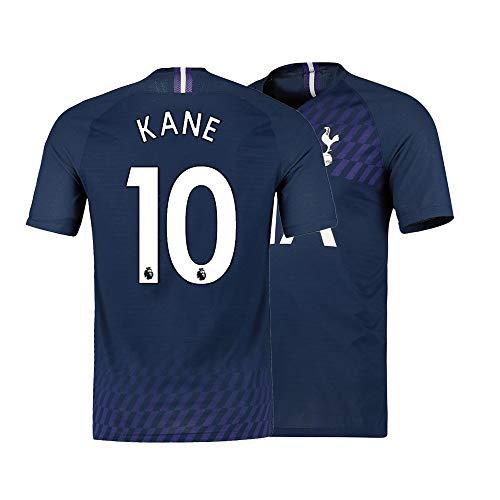 Jtjrb Men's Kane Shirts Jerseys 10 Soccer Adult Sports Athletics Blue (Large)