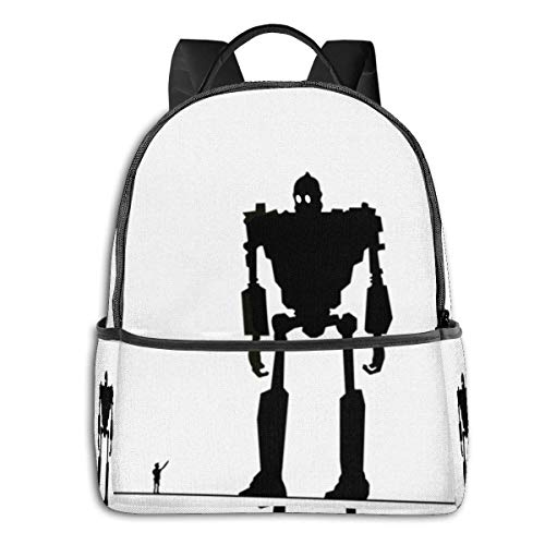 AOOEDM Anime Iron Giant Student School Bag School Ciclismo Ocio Viaje Camping...
