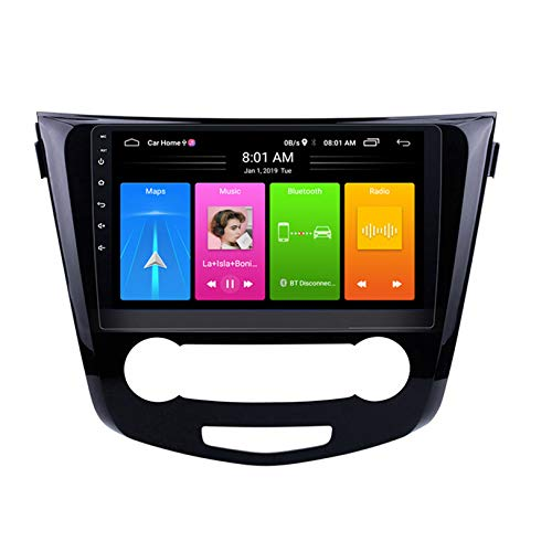 WHL.HH para Qashqai Acenta 2013-2016 Androide 10 GPS Navegación Cabeza Unidad IPS Tocar Pantalla Multimedia Jugador Carro Cabeza Unidad Apoyos WiFi DSP SWC,1+16G